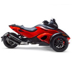 Two Brothers Can-Am Spyder 08-12 M-2 Dual Standard Series Slip-On Exhaust