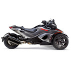 Two Brothers Can-Am Spyder RS/ST 2013 M-2 Black Series Slip-On Exhaust