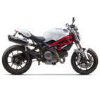 Two Brothers Ducati Monster 696 08-12 M-2 Dual Black Series Slip-On Exhaust