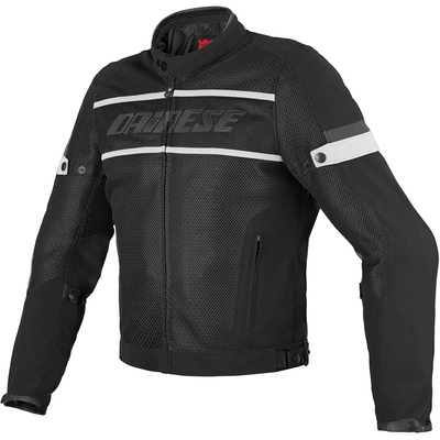 Dainese Air-Frame Textile Jacket Black/Black/White