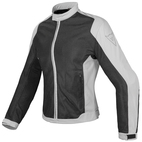 Dainese Women's Air Flux D1 Textile Jacket Black/High Rise