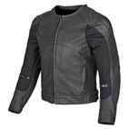 Speed and Strength Full Battle Rattle Leather Jacket Black