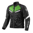 REV'IT! GT-R Air Textile Jacket Black/Acid Green