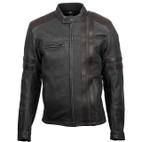 Scorpion 1909 Leather Jacket Black