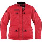 Icon 1000 Women's Akorp Jacket Mischief Red