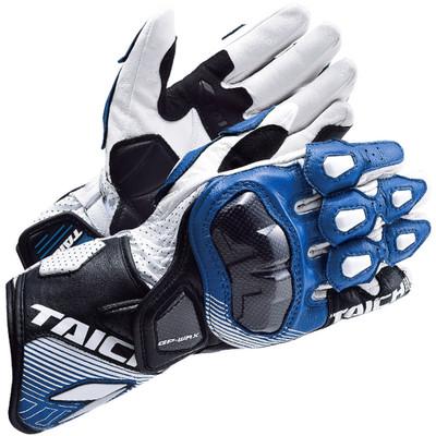 RS Taichi GP-WRX Racing Gloves NXT052 White/Blue