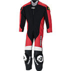 RS Taichi J022 Kids One Piece Leather Motorcycle Race Suit NXL022 Red