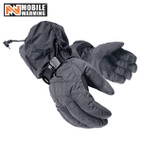 Mobile Warming Textile Glove Black