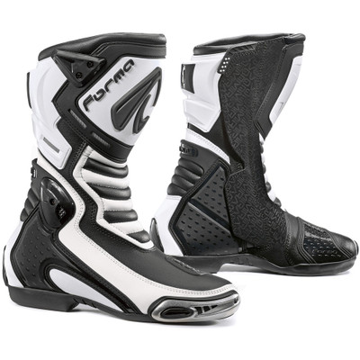 Forma Mirage Racing Motorcycle Boots White 47 Euro/13 US ...