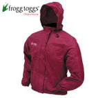 Frogg Toggs Women's Pro-Action Jacket Cherry