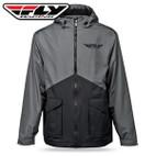 Fly Racing Pit Jacket Black/Grey