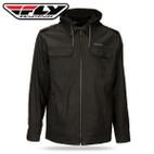 Fly Racing Waxed Jacket Black