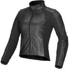 Alpinestars Stella Vika Leather Jacket Black