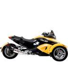 Yoshimura CAN-AM Spyder GS 08-12 Race R-77 Slip-On Exhaust System SS-CF-CF
