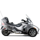 Yoshimura CAN-AM Spyder RT 10-13 Signature R-77 Slip-On E.P.A Noise Compliant Exhaust System SS-CF-CF