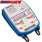 TecMate TM451 OptiMate 3x2 2-Bank Battery Charger