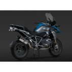Yoshimura BMW R1200GS 13-14 Street R-77 Stainless Slip-On Exhaust SS-SS-CF