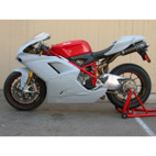 Catalyst Composites Ducati 1198 Superbike w/SS Tail Race Bodywork Set Ultralite