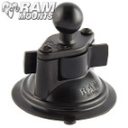 "Ram Mounts 3.25"" Diameter Suction Cup Twist Lock Base with 1"" Ball"