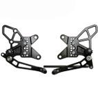 Vortex Adjustable Rearsets V2 Kawasaki ZX-6R 09-12