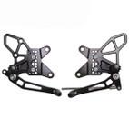 Vortex Adjustable Rearsets V2 Kawasaki ZX-6R 13-16