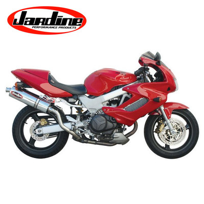 jardine rt 1 slip on exhaust honda superhawk 1998 05