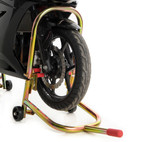 Pit Bull Hybrid Dual Lift Motorcycle Front Stand