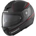 Schuberth C3Pro Dark Classic Helmet Red
