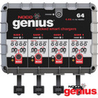 Noco Genius G4 4.4-Amp 4-Bank 7-Step Battery Charger