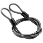 Bully Locks 7' 10MM Straight Cable With Double Loop