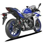 Akrapovic Yamaha YZF-R3 15-17 Carbon Slip On Exhaust