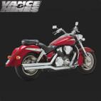 Vance & Hines Big Shot Full Exaust System Honda VTX1800R 02-08 1