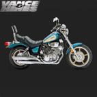Vance & Hines Classic Bagg Dual Exaust Yamaha Virago 700/750/1100 84-99 1