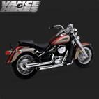 Vance & Hines Cruzer Full Exaust System Kawasaki Vulcan 800 95-04 1