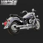 Vance & Hines Cruzer Full Exaust System Yamaha V-Star 650 04-09 (California) 1