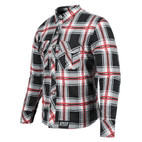 Speed and Strength Rust And Redemption Armored Motoshirt Black/Red