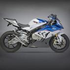 Yoshimura BMW S1000RR 15-16 Street R-55 Titanium Slip-On Exhaust SS-TI-CF