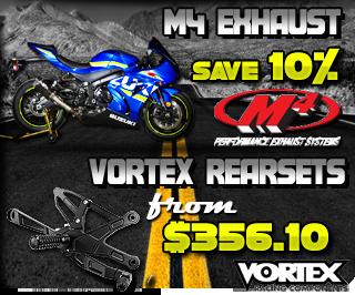 M4 Exhaust and Vortex Rearsets