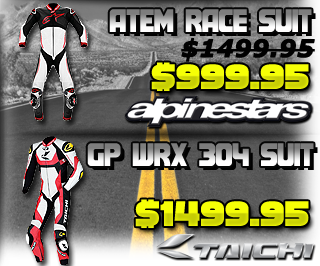 Alpinestars Atem and Scorpion Podium Race Suit Sale