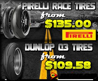 Pirelli Race Tires, Dunlop Q3 Sportmax Tires