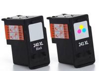 Compatible Canon PG-240XL, CL-241 Ink Cartridges Set