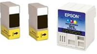 Remanufactured Epson Stylus Color 480 Set of 3 Ink Cartridges: 2 Black & 1 Color