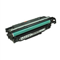 Remanufactured HP CE250A (504A) Black Laser Toner Cartridge - Replacement Toner for HP Color LaserJet CM3530, CP3525