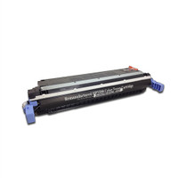 Remanufactured HP C9730A (645A) Black Laser Toner Cartridge - Replacement Toner for HP Color LaserJet 5500 & 5550