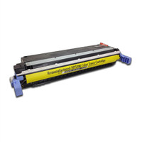 Remanufactured HP C9732A (645A) Yellow Laser Toner Cartridge - Replacement Toner for HP Color LaserJet 5500 & 5550