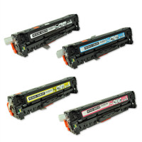 HP 305A Toner Cartridges 4Pack (CE410A, CE411A, CE412A, CE413A)