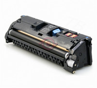 Remanufactured HP (122A) Q3960A Black Laser Toner Cartridge - Replacement Toner for HP Color LaserJet 2550, 2820, 2840