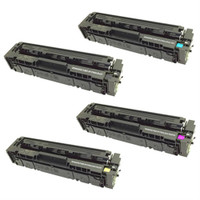 HP 201A Toner Cartridges Pack (CF400A, CF401A, CF402A, CF403A) for HP Color LaserJet Pro M252dw, M252n