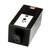 Remanufactured HP 934XL C2P19AN / C2P23AN Black Ink Cartridge