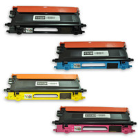 Remanufactured Brother TN115  Toner Cartridges Set of 4 High Yield Laser Toners